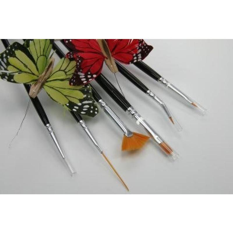 ncf Nail-Art Pinsel Set